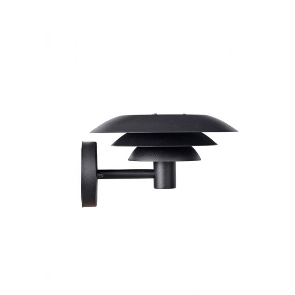 DL 25 Outdoor Wall lamp Black