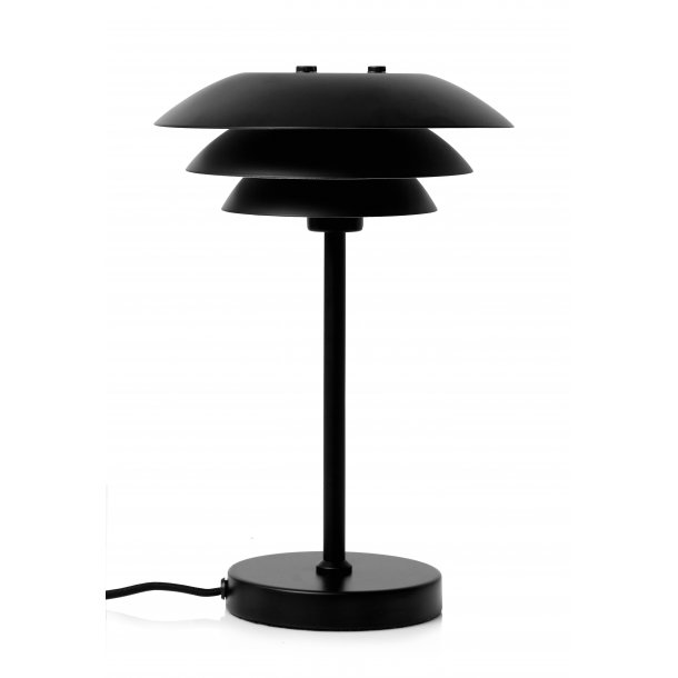 DL20 tablelamp matt black
