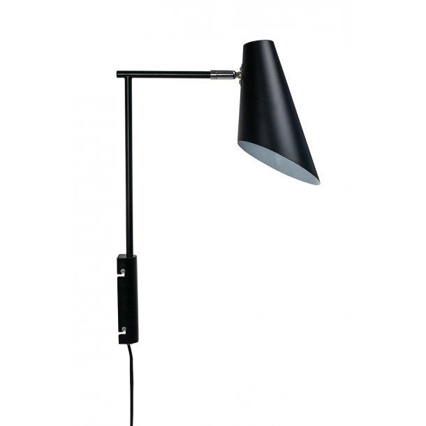 Cale Black Wall Lamp