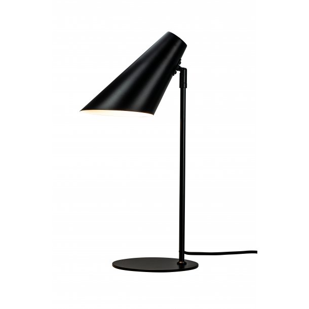 Cale table lamp black