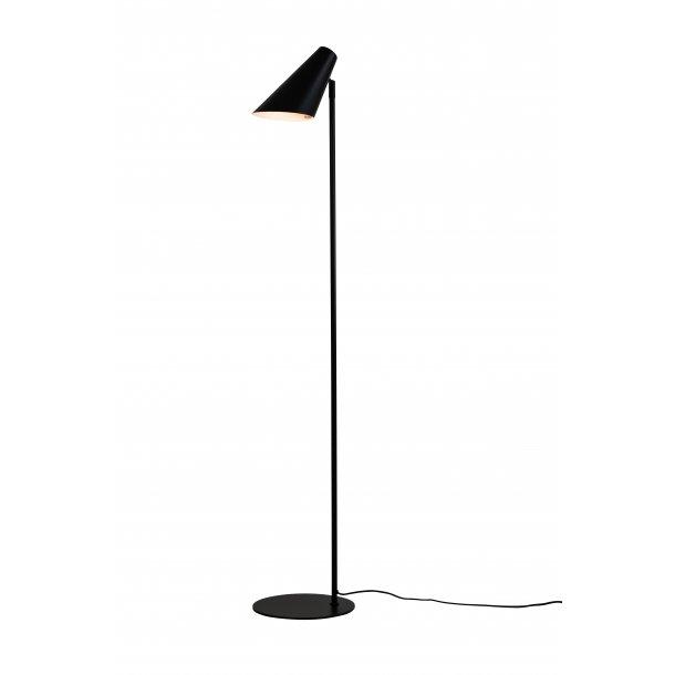 Cale floor lamp black