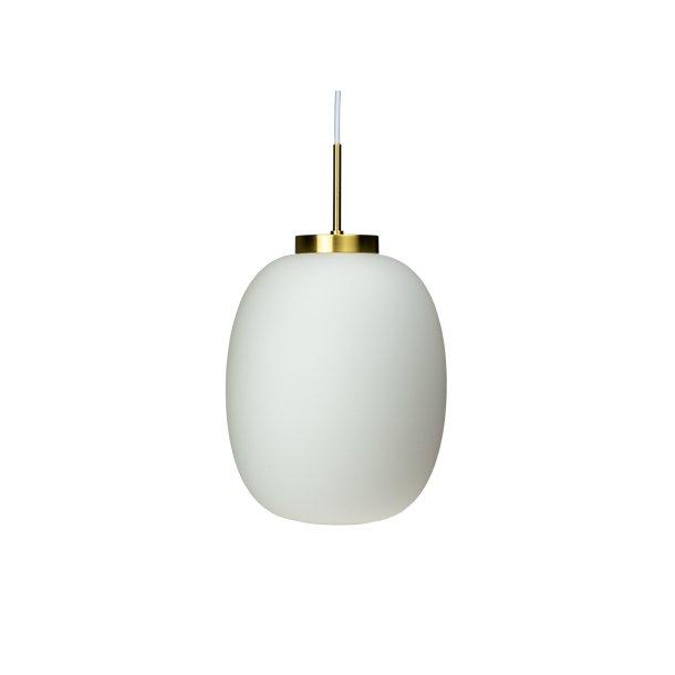 DL39 Opal/Brass Small Pendel