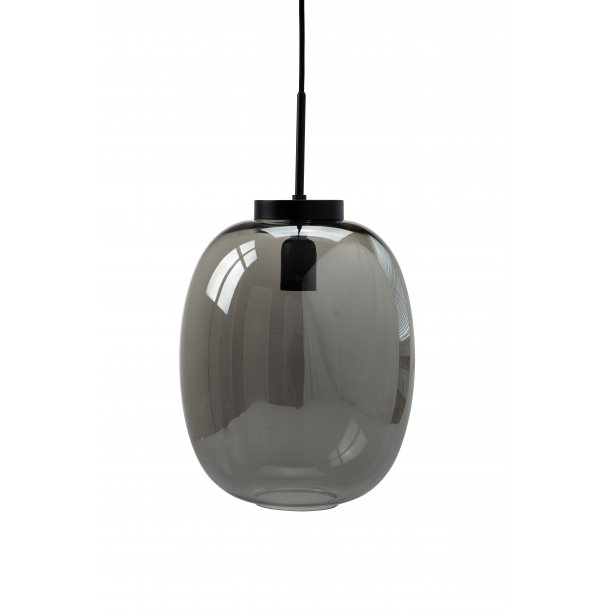 DL39 Smoked Glass Pendant